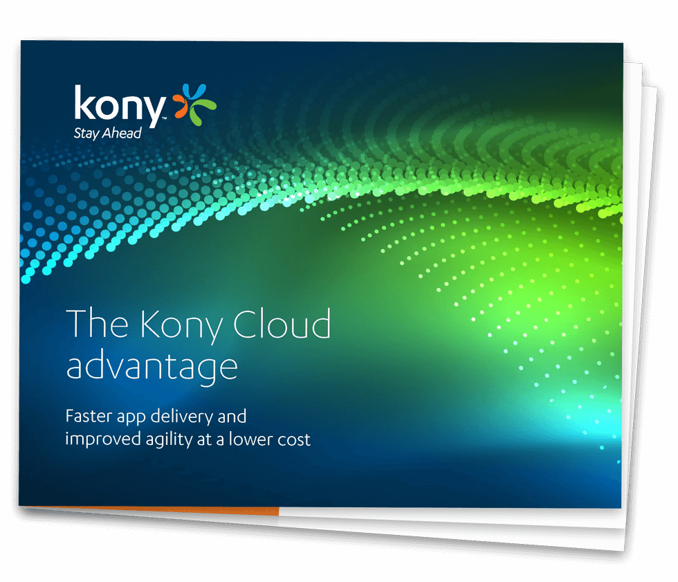 The Kony Cloud Advantage eBook