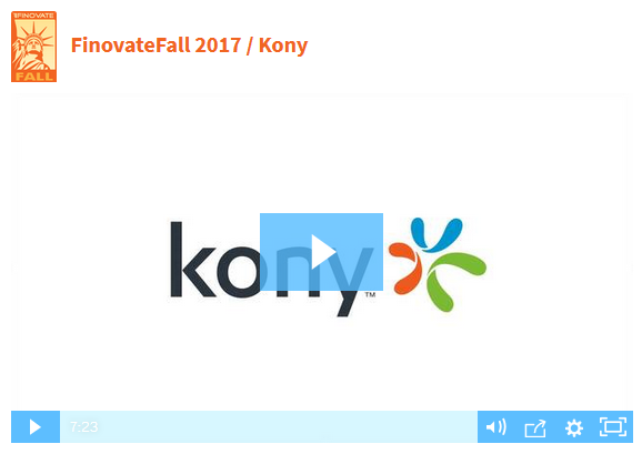 click to watch a demo of the new Kony digital banking platform