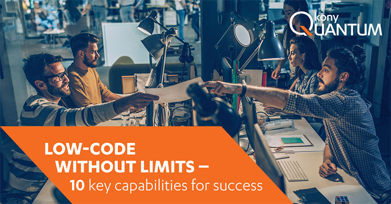 Kony Low-Code Without Limits eBook